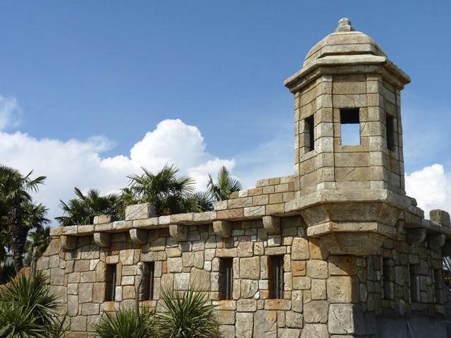Tour fortifiée - Detail