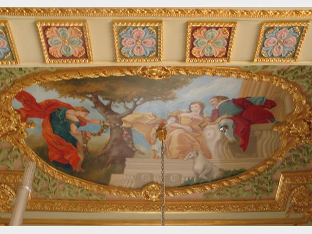 Fresque à Dubaï - Giovanni Battista Tiepolo