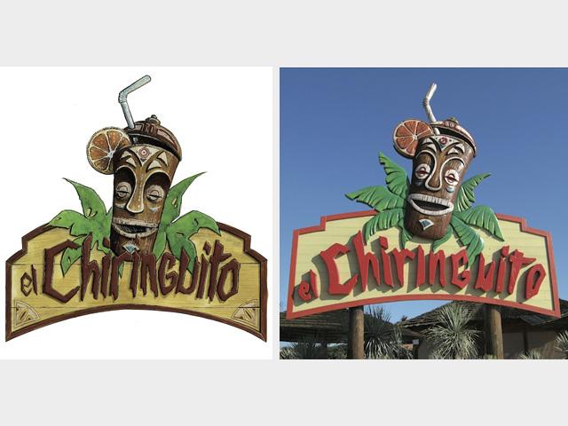 Elaboration de concept scénographique - El Chiringuito