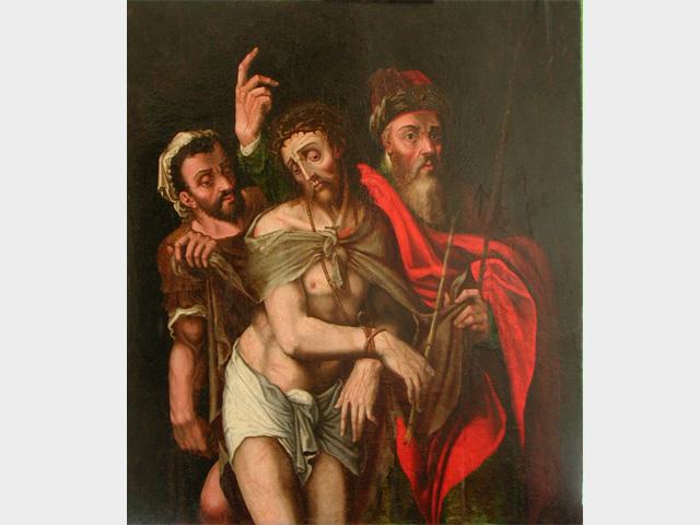 Restauration peinte du Christ, complète