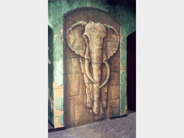 Trompe l'œil - Éléphant