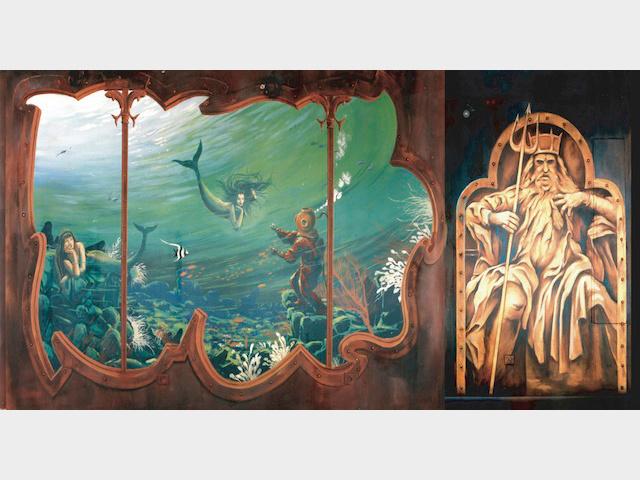 Trompe l'œil - Neptune